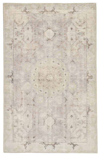 Jaipur Living Modify Hand-Knotted Medallion Gray/ Blue Area Rug (12'X15')