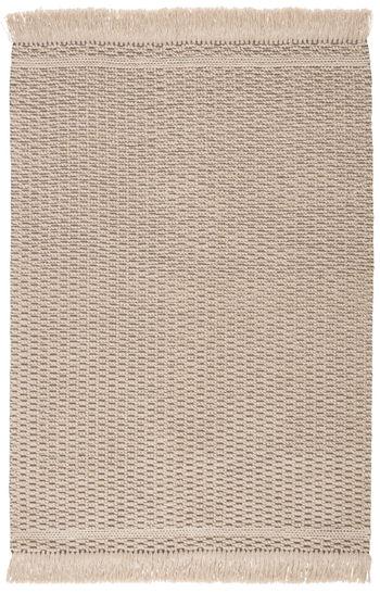 Jaipur Living Soleil Indoor/ Outdoor Solid Beige/ Dark Taupe Area Rug (5'X8')