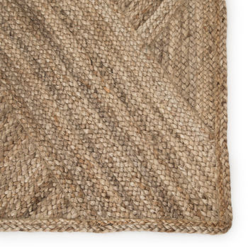 """Jaipur Living Vero Natural Trellis Beige Runner Rug (2'6""""X9')"""