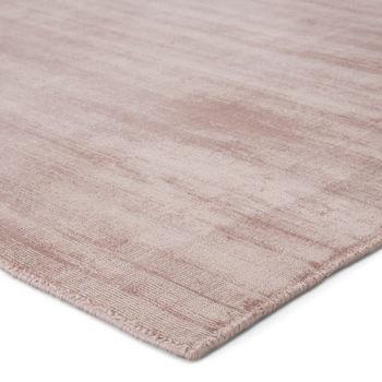 Jaipur Living Yasmin Handmade Solid Pink Area Rug (9'X12')