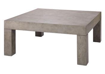 Bedford Coffee Table In Grey Burl Wood Veneer *Must Ship Common Carrier.