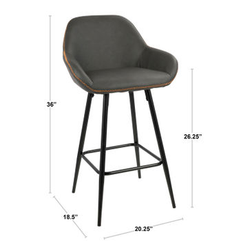 Clubhouse Counter Stool, Set Of 2