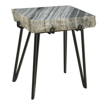 Alpert Accent Table Grey