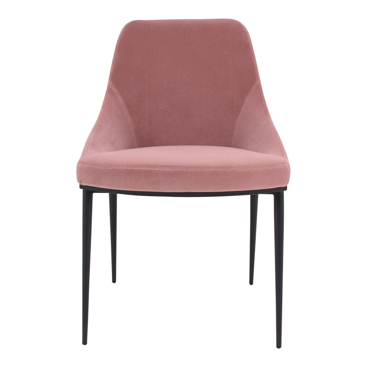 Sedona Dining Chair Pink Velvet-M2