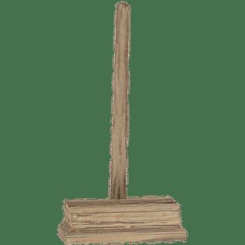 Distressed Wood Easel, 26 X 13 X 6