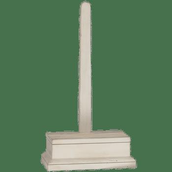 Whitewash Wood Easel, 21 X 12 X 6