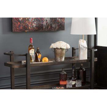 Carter Bar Cart (Oil Rubbed Bronze)