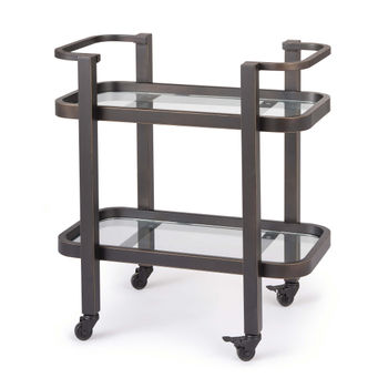 Carter Bar Cart Small (Oil Rubbed Bronze)