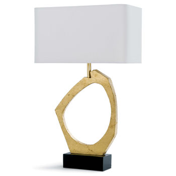 Manhattan Table Lamp (Gold Leaf)