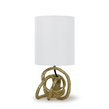 Mini Knot Lamp (Soft Gold)