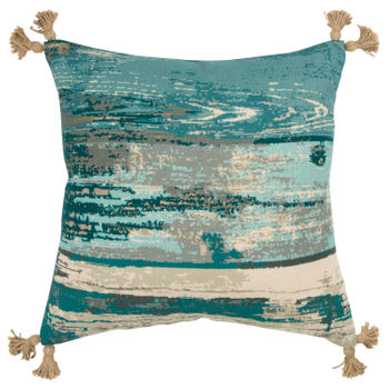 """Rizzy Home 20"""" X 20"""" Poly Filled Pillow"""