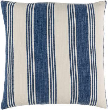 "Anchor Bay 22"" X 22"" Pillow Kit, Navy"