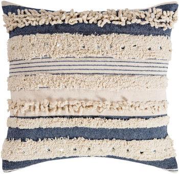 "Temara 22"" X 22"" Pillow Kit, Beige"