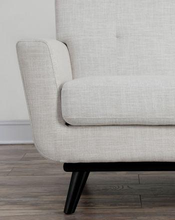 James Beige Linen Sofa