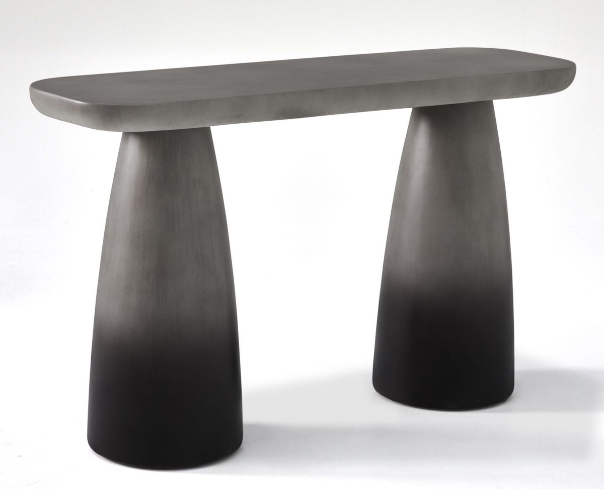 Rounded Console Table
