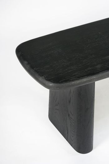 Laurel Dining Bench - Charcoal