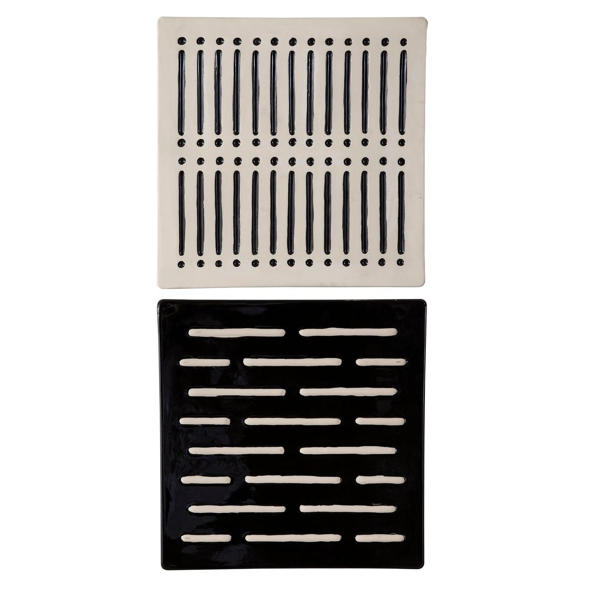 Domino Effect Modern Wall Decor, S/2