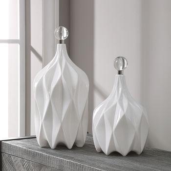 Klara White Bottles, S/2