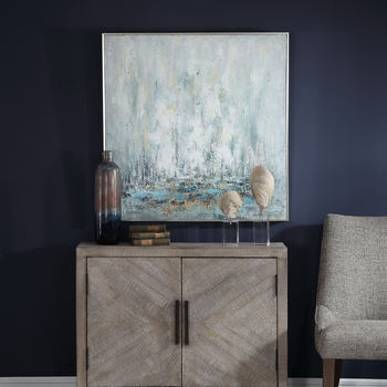 Uttermost Ghost Ship Hand Painted Art