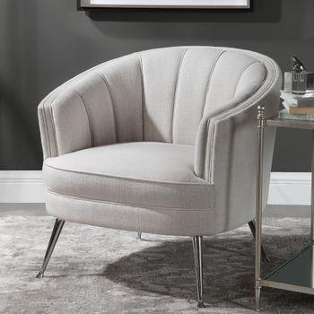 Uttermost Janie Mid-Century Accent Chair