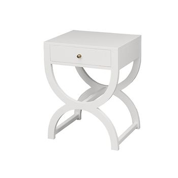 Alexis One Drawer Side Table