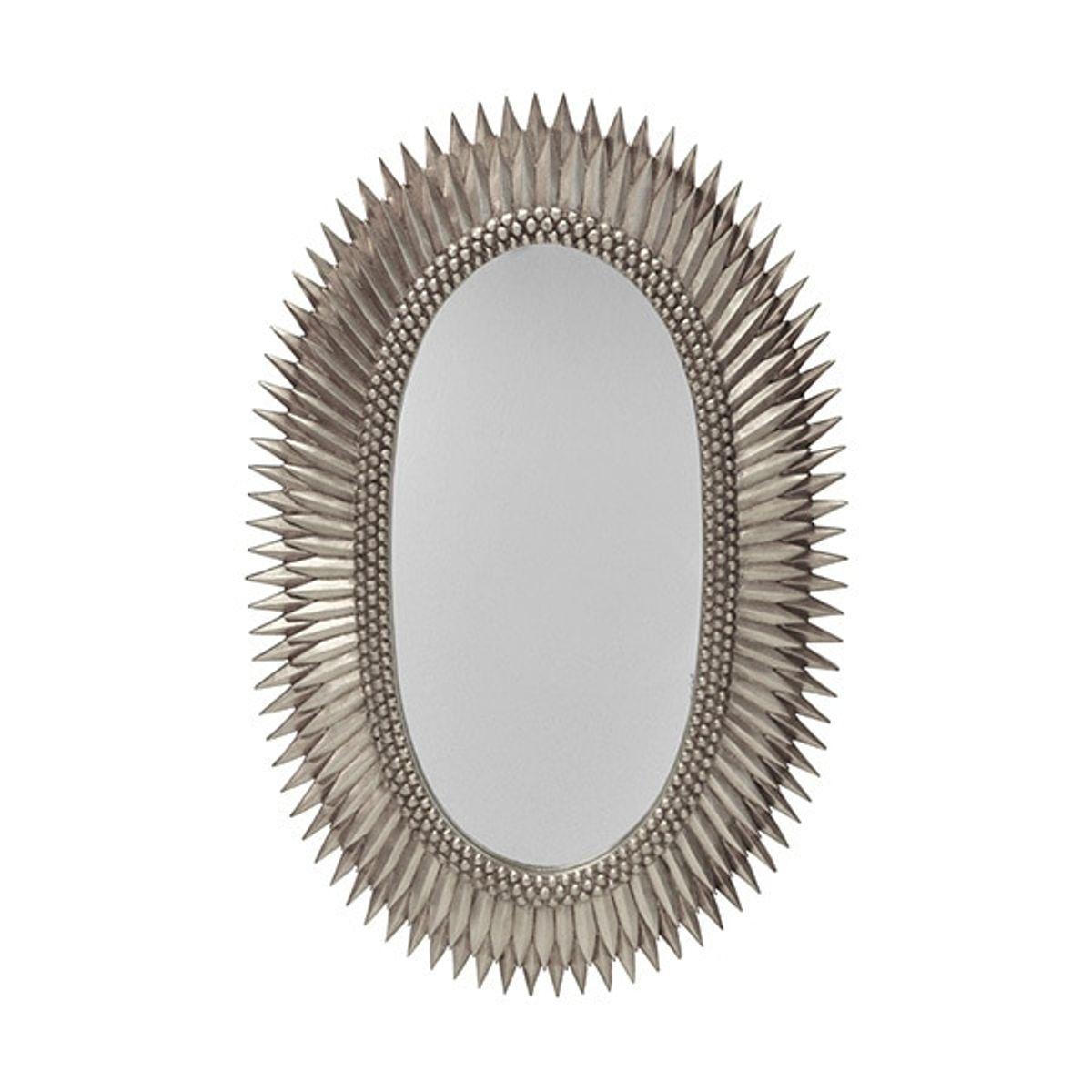 Rita S, Oval Starburst Mirror